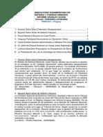 Informe Uruguay 32-2020