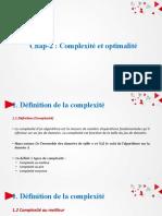 Chap-2  Complexité et optimalité.pptx