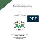 PAPER KEL 2_EKO SDA_ILMU EKONOMI B'19