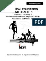 PE AND HEALTH M3
