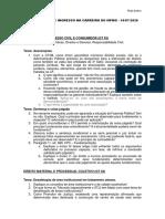 LVII CONCURSO DE INGRESSO NA CARREIRA DO MPMG - Dia 02 - 14.07.2020