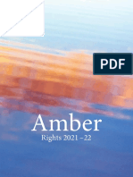 Amber Books Ltd Rights Catalogue 2021-22