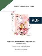 Folheto da Missa de Crisma - 2018