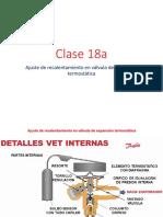 Clase 18a-Ajuste de recalentamiento en válvula de expansión termostática