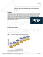 Unlocking the Potential of Cloud Computing with Cisco Application Performance Management
