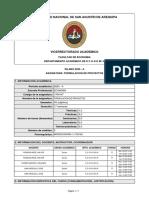 SILABO-FORMULACION DE PROYECTOS (2020-A)