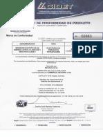 CERTIFICACION 2883 - LANDIS ZMG405 (F.C. 02-11-2007)
