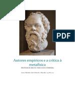Autores empíricos e a crítica à metafísica