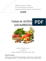 alimmentos y nutricion