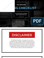 The Ultimate Mixing Checklist by David Glenn Recording 2