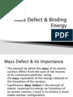 Mass Defect & Binding Energy 3