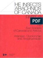 The sac spiders of Canada and Alaska Araneae, Clubionidae and Anyphaenidae (The Insects and arachnids of Canada) by Charles D Dondale (z-lib.org)
