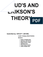 frued and eriksons theory