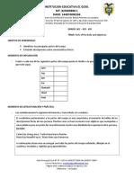 GUAIA DE TRABAJO INGLÉS 6 IV - V
