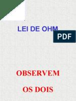 Lei de Ohm.ppt