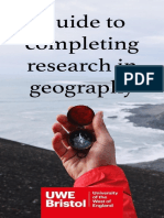 Guide to Research in Geography v1