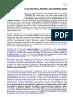 Carta en respuesta a la enviada por el Consejero de Educación de la Comunidad Autónoma de Murcia