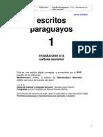 Escritos Paraguayos 1 - PortalGuarani