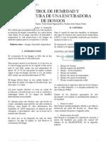 CONTROL DE HUMEDAD Y TEMPERATURA DE UNA ENCUBADORA DE HONGOS