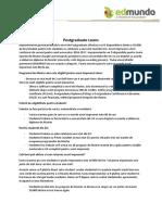 EDMUNDO - Postgraduate Loans Marea Britanie