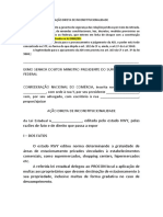 AÇÃO DIRETA DE INCONSTITUCIONALIDADE - AULA 7