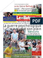 LE BUTEUR PDF du 30/01/2011