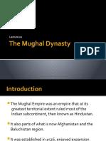 The Mughal Dynasty.pptx
