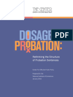 National Institute of Corrections Dosage Probation