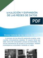 Tema 1.- Evolución y expansión de las redes de datos