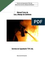 Manual Curso Uso y Manejo de Extintores.