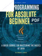Java Programming for absolute beginners A Quick Course for Mastering the Basics of Java by Lara, Elinda (z-lib.org).pdf