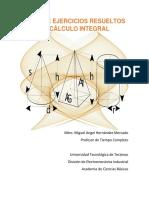 SERIE DE EJERCICIOS RESUELTOS DE CÁLCULO INTEGRAL.pdf