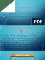 DEPENDENCIAS CENTRO DE GESTIÓN AGROEMPRESARIAL DEL ORIENTE