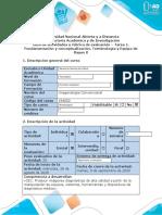 Guía Tarea 1. Fundamentación y conceptualización.