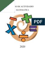 Libro Actividades Matematicas tercero básico.