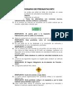 CUESTIONARIO DE PREGUNTAS MTC