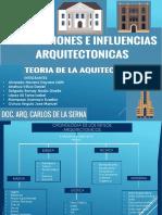 TEMA 1- teoria 1 cronologia de estilos arquitectonicos
