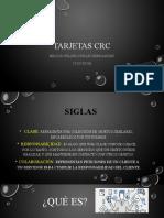 Tarjetas CRC