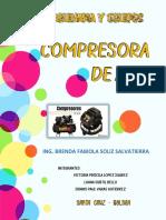 INFORME - COMPRESORAS DE AIRE