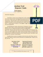 Appalachian Trail 2 Meter Repeater Guide, By Beau Bushor