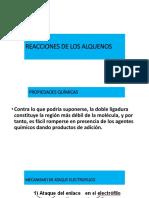 6° REACCIONES DE LOS ALQUENOS
