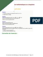 exercices-les-parallelogrammes-particuliers-maths-cinquieme-563