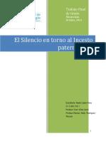 El silencio en casos de Incesto
