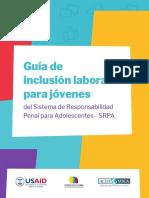 Guia Inclusión laboral SRPA_ Reconciliacion Colombia