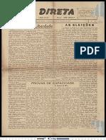 3. Ação Direta, 1947, Fevereiro. Ano I, nº 31. Fala sobre o Mário Ferreira dos Santos.