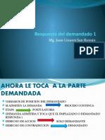 5) RESPUESTA DEL DEMANDADO 1