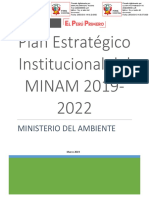Plan Estratégico Institucional MINAM 2019 (1)