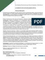 INSTRUCCIÓN No 2.2018 sobre PJ Negada a Segurmatica