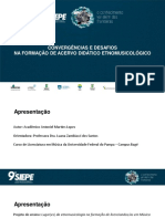 CONVERGÊNCIAS E DESAFIOS NA FORMAÇÃO DE ACERVO DIDÁTICO ETNOMUSICOLÓGICO