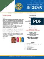 In Gear Week 14 28 September
